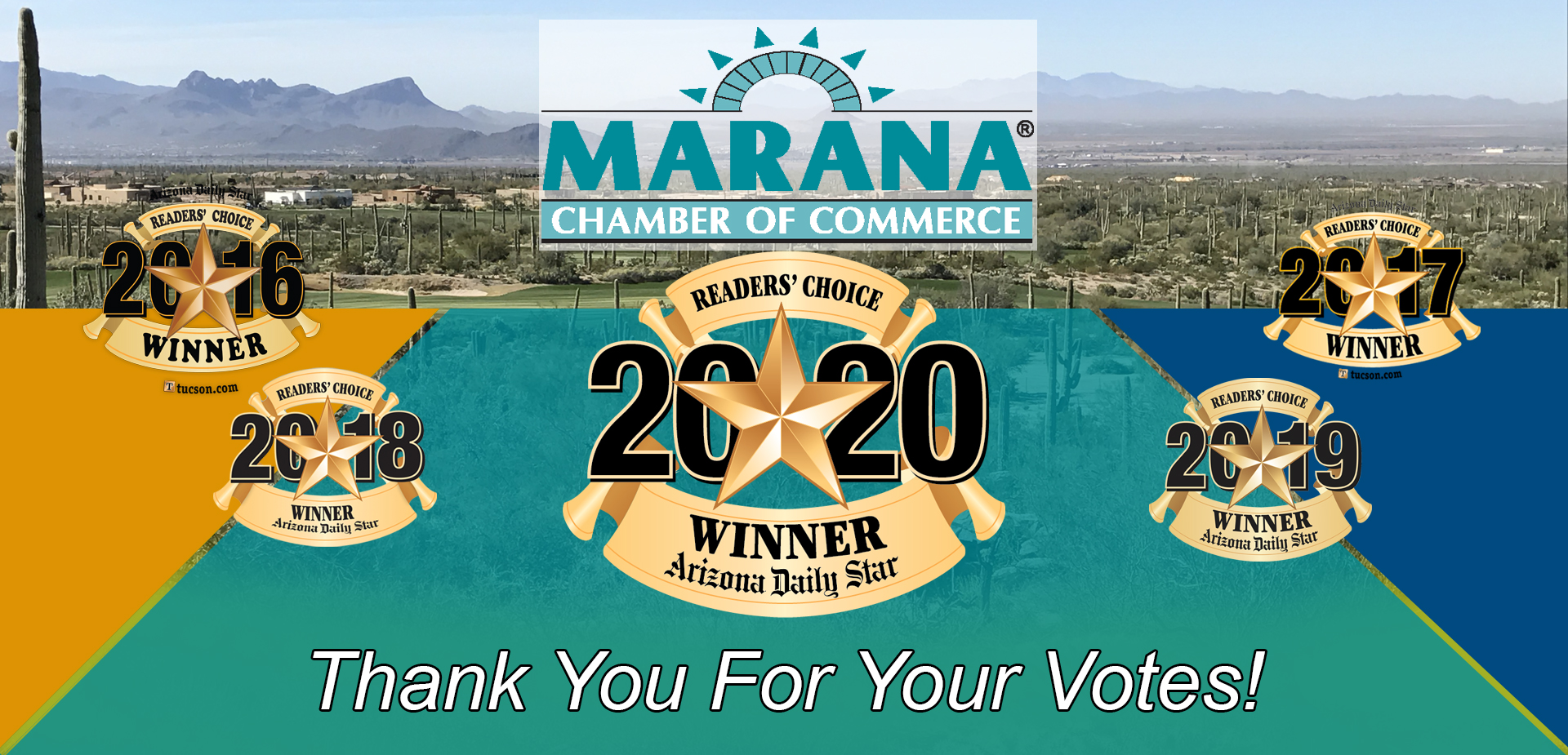 Marana Chamber of Commerce Reader's Choice vote 2020